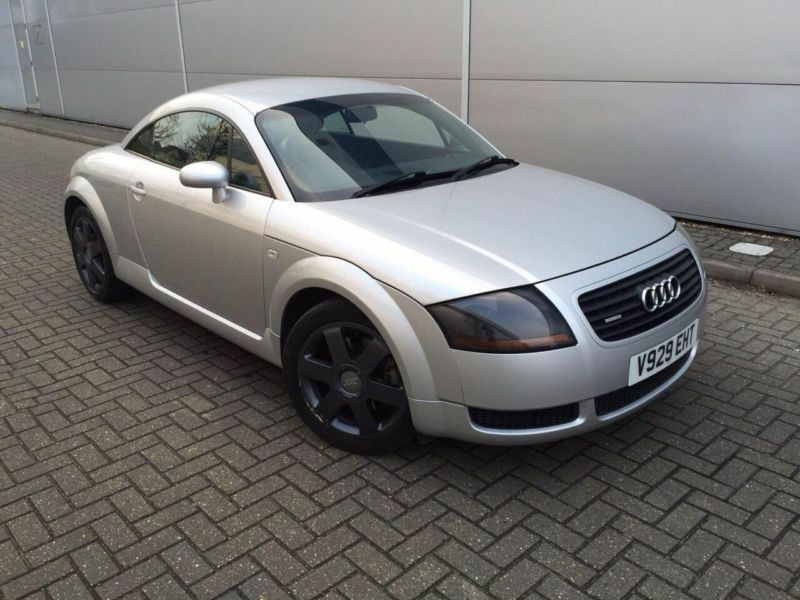 1999 V Audi Tt Coupe 18t Quattro Silver Leather In Watford