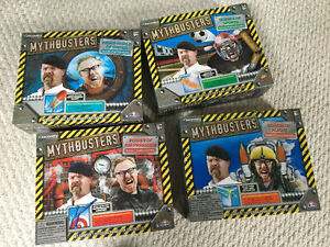 MythBusters Science Experiments – all 4 Sets one price!