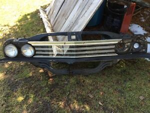 67 Chevelle rad cradle valance and grill
