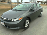 2012 HONDA CIVIC EX,...GAS SAVER
