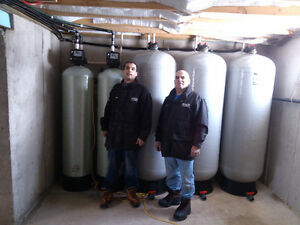 Demand water softeners installed tax in only $999.00