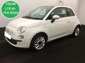 £125.26 PER MONTH Fiat 500 1.2 COLOUR THERAPY HATCHBACK