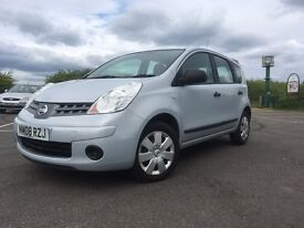 2008 NISSAN NOTE 1.4 VISIA HPI CLEAR GOOD CONDITION