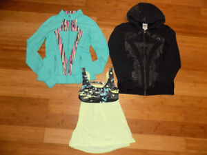 Ivivva 3 item lot: Perfect Your Practice Jacket, Hoody and Top!