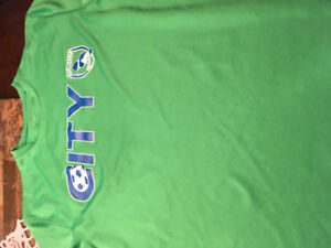 City soccer shirts