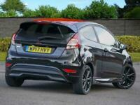 2017 Ford Fiesta 1.0T 140 EcoBoost ST-Line Black Edition 3dr SAT NAV DAB PX Welc
