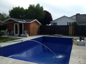 Swimming pool liners and installation London Ontario image 2