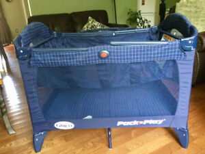 Playpen with bassinet. Graco brand. Used only occasionally.