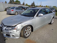 LATEST AUDI A4 FOR PARTS!