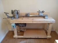 MYFORD ML8 WOOD TURNING LATHE & ACCESSORIES