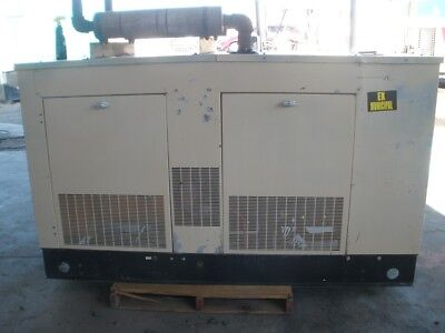 Generac 40 Kw 120-240 3 Ph Natural Gas Generator With Transfer Switch