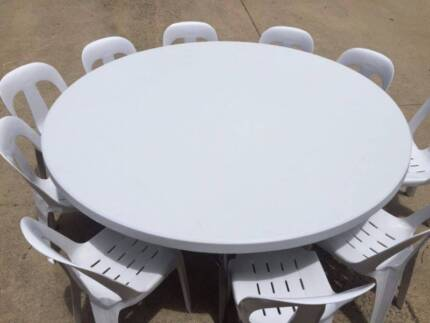 Party Tables Round 6ft