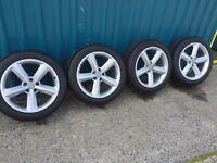 Audi A4 s line alloy wheels