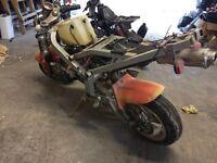2x midi/mini motos scramblers projects 49/50cc