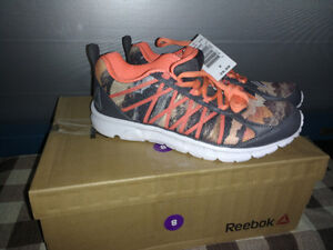 BRAND NEW REEBOK CAMO RUNNING SHOES