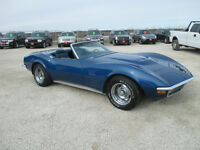1971 Corvette Convertible 370HP 4spd 1 onwer
