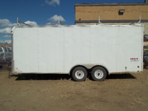 CARGO TRAILER 8 'X 20' TANDEM 5200LB AXLES WITH CABINETS