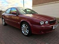 Jaguar X-Type 2.5I V6 SPORT (red) 2001