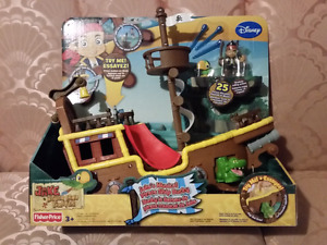 *NEW* Fisher Price Jake's Musical Pirate Ship Bucky