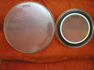 Two  used Aquarian Drum  Head  for sell.