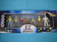 E. T. The Extraterrestrial 7 Figure Collection