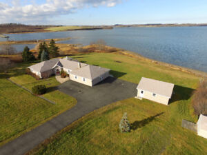 Absolutely Gorgeous Waterfront Home With Tons of Space