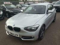 2014 BMW 1 Series 2.0 116d Sport Sports Hatch (s/s) 3dr Hatchback Diesel Manual