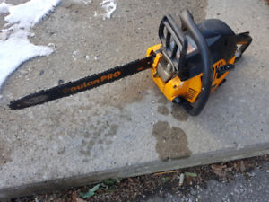 Poulon Pro PP4218AVX Chainsaw (Used, Good condition)
