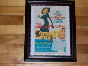 THE GIRL CAN'T HELP IT - Jayne Mansfield!  FRAMED FILM PRINT!
