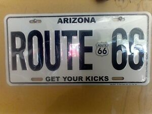 Route 66 Metal Signs