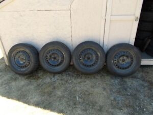4 new Uniroyal Tires