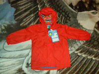 NEW Manteau automne printemps (rouge) 2-3 ans vest kid veste