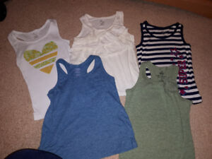 5T girls summer clothes lot - 20 pieces