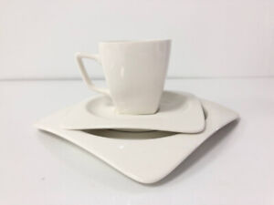 18-Piece Porcelain Teacups and Saucer Set with Coffee Cup set