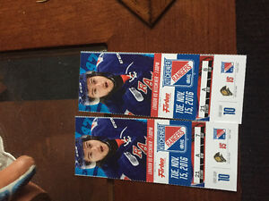 2 Ranger Tickets for tonight's game vs Knights Kitchener / Waterloo Kitchener Area image 1