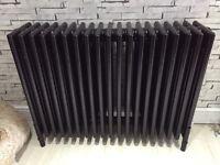 Cast iron radiator style