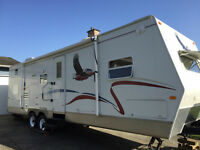Bunkhouse style Travel Trailer