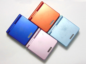 4x GameBoy Advance SP AGS-001