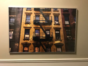 Cadre d'immeuble à New York