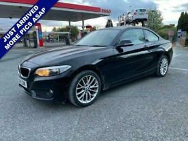 image for 2014 BMW 2 Series 2.0 218D SE 2d 141 BHP Coupe Diesel Manual