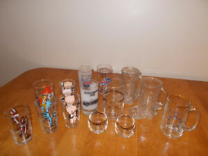 LOT of 10 + Vintage Drinking & Collectable Glasses & More…