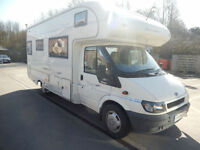 Buccaneer Clipper 4 Berth End Washroom Motorhome For Sale