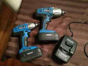 Mastercraft impact gun and impact driver