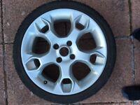 Ford Fiesta 17 inch alloy wheel