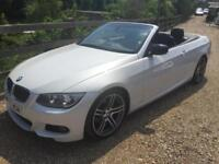 BMW 320d SPORT PLUS EDITION CONVERTIBLE AUTOMATIC 12 REG