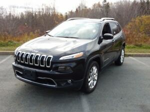 2017 Jeep CHEROKEE WOW! LIMITED LOADED