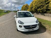 2014 14 Vauxhall ADAM 1.2 Petrol VVT 16v JAM 3 Door White MOT 05/22.