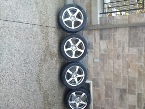 "4 x 18"" Alloy Wheels for Sale - Great Condition"