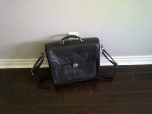 Dell Laptop Leather Carrying Case