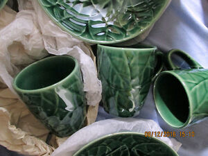 Jade Leaves Pier 1 Imports  8 Pcs. Setting  **Reduced AGAIN** London Ontario image 3